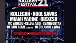 Kaliber 21 Festival - Line Up, Bands Bild: oeticket.com