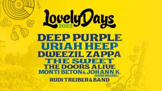 Lovely Days Festival 2022 - Line Up/Bands - Bild: Oeticket