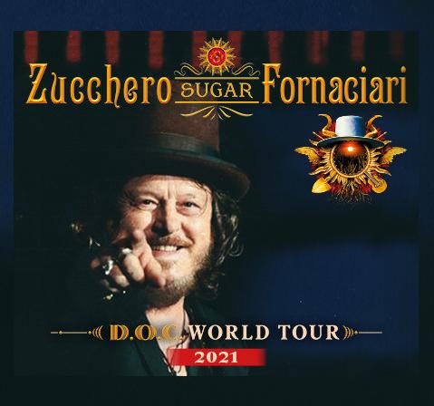 Zucchero Konzerte - Tour 2021 Bild: Oeticket