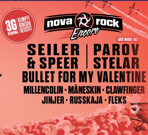 Nova Rock Encore 2021 Konzert - 1 Tages Festival - Bild: oeticket.com